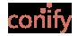 Conify. Environmentally friendly powder production Logo